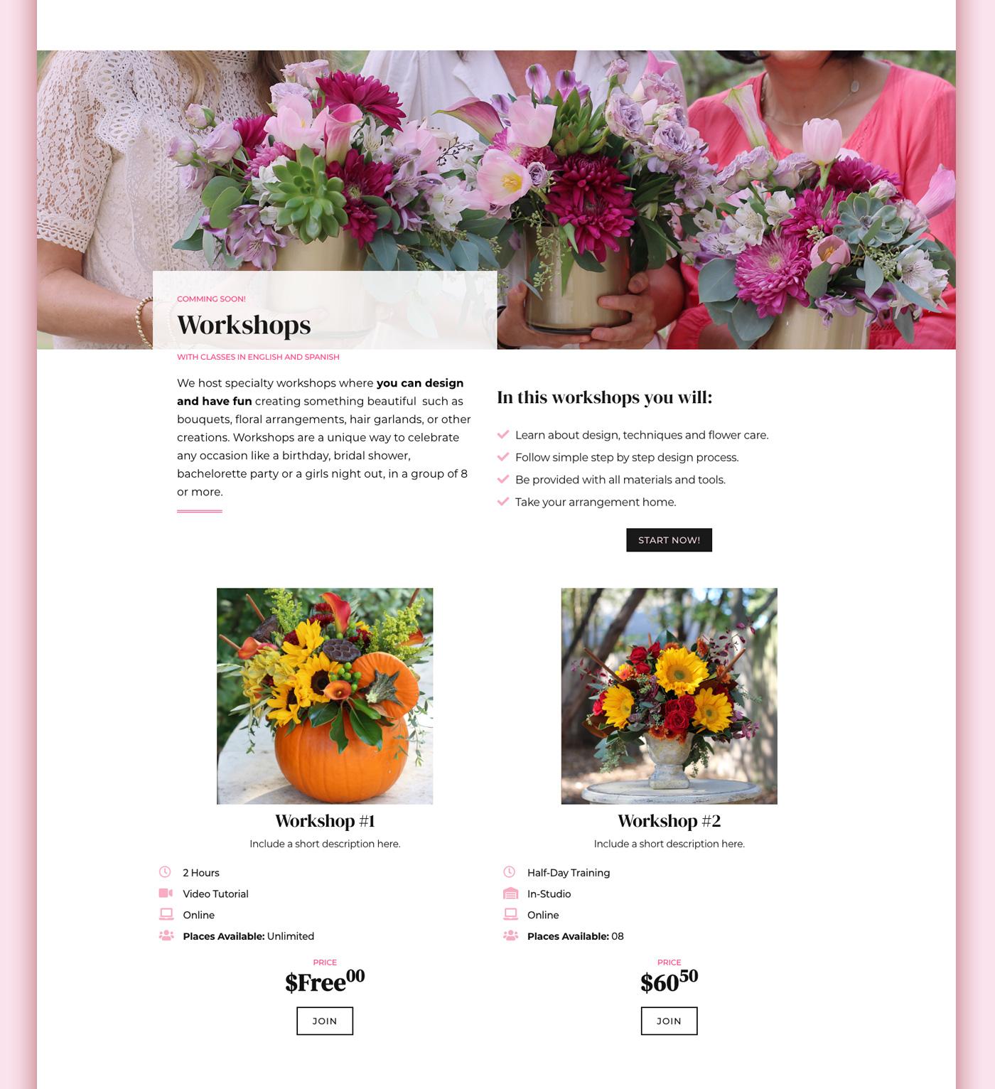 Portafolio Blossom Flower Studio 04