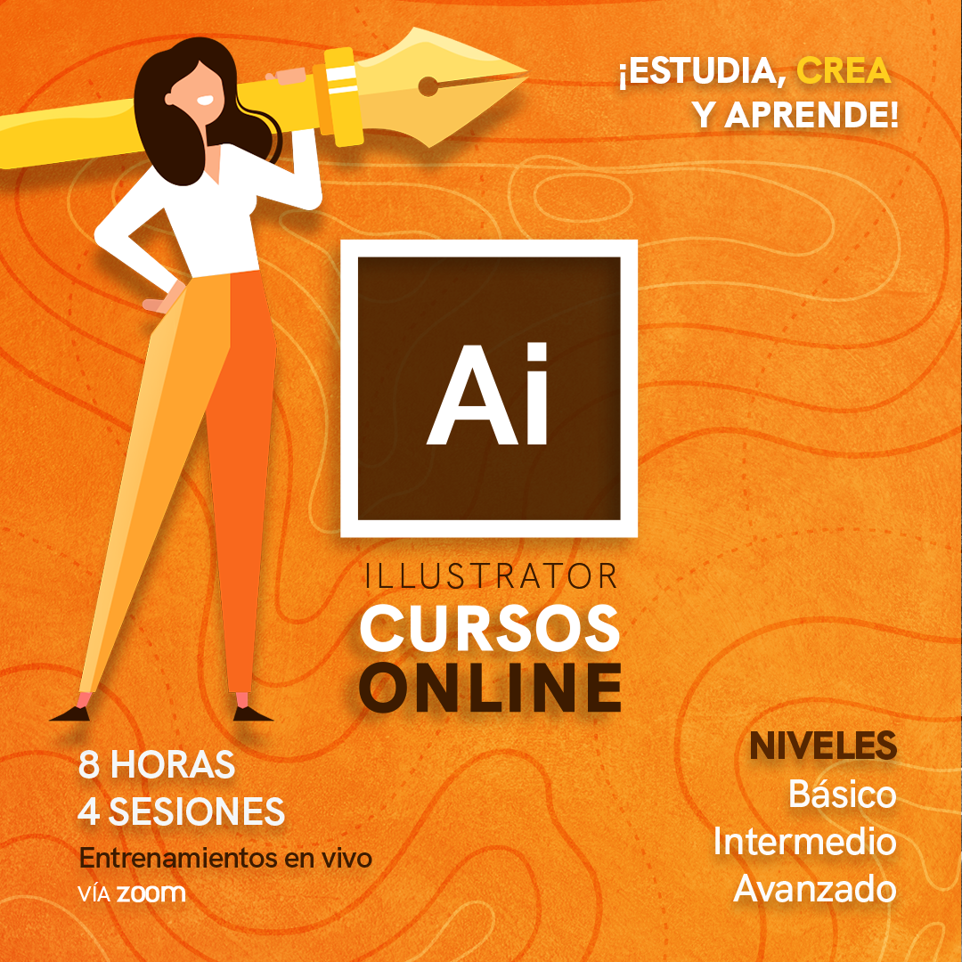 Curso de Ilustrator, en niveles básico, intermedio y avanzado, con Dr Graphic Venezuela