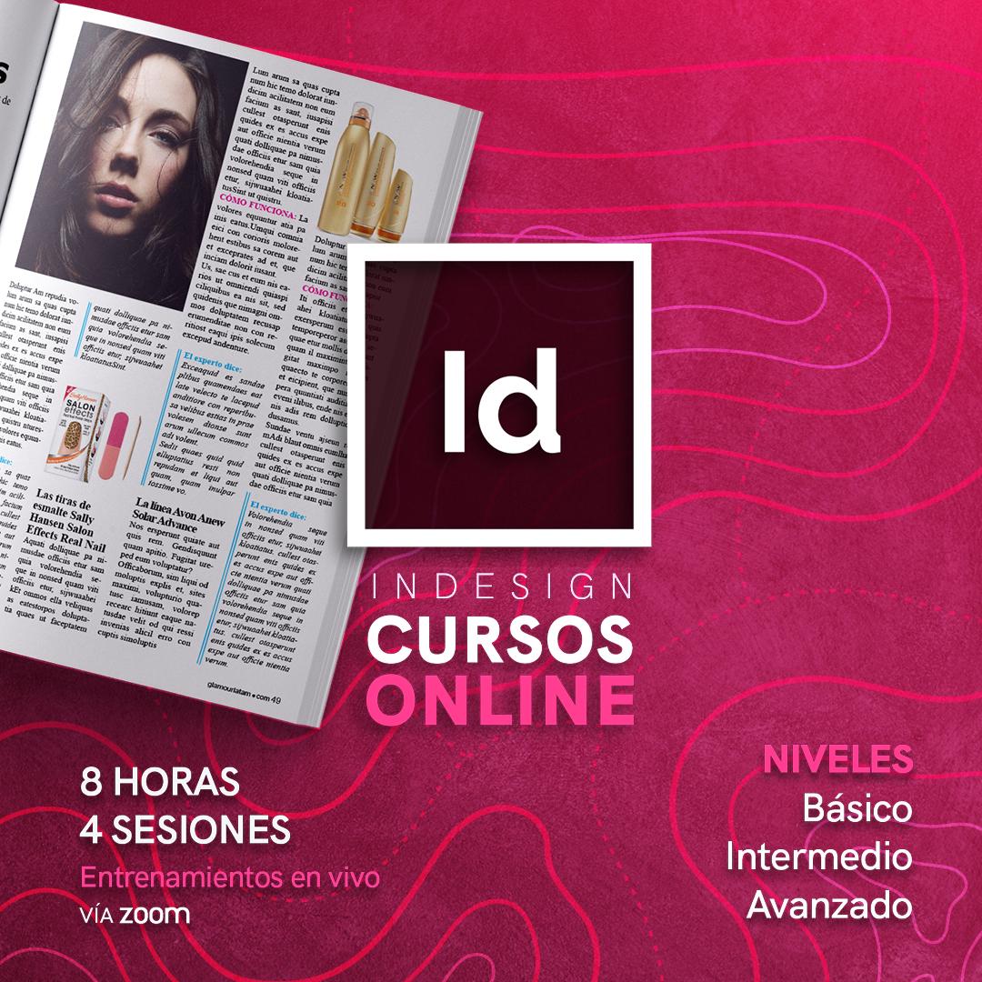 Curso de InDesign, en niveles básico, intermedio y avanzado, con Dr Graphic Venezuela