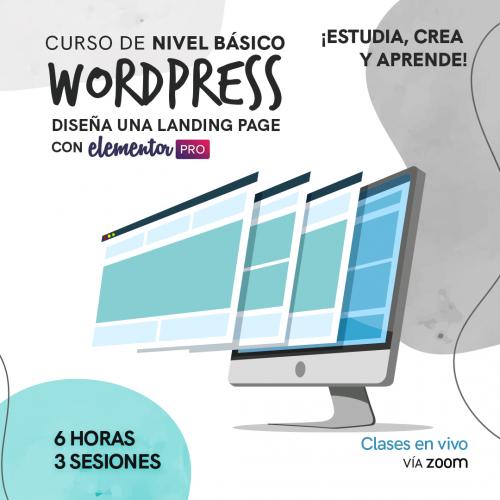 Curso de WordPress + Elementor Pro con Dr Graphic Venezuela